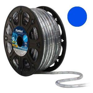 LED světelný had 50m GIVRO LED-BL modrá Kanlux + Výprodej 08631-x